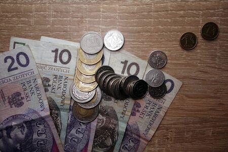 polish: Polish zloty money