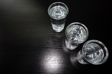rakia: Traditional Balkan rakia alcohol drink in glass
