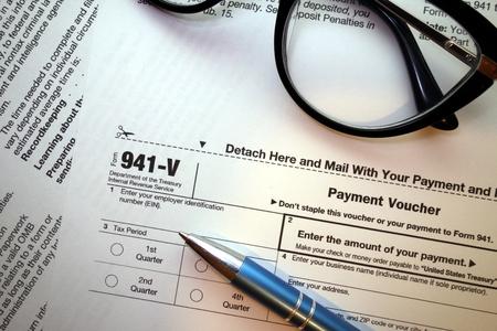 941-v form for tax season