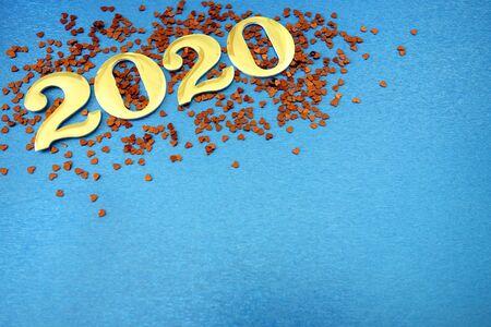 Happy New Year 2020 background Reklamní fotografie