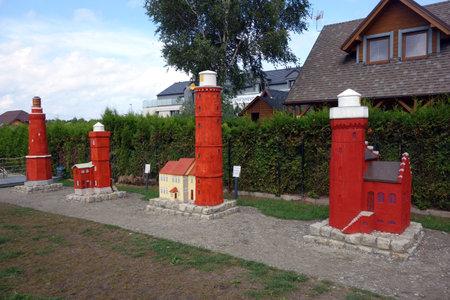 KARWIA, POLAND - August 26, 2020: Lighthouse Museum 新闻类图片