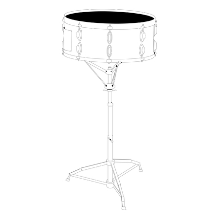 snare drum: Snare drum Illustration