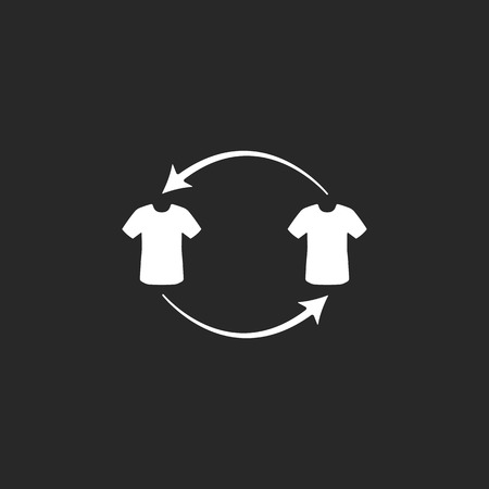 replace: Sport soccer player replace simple icon on background Illustration