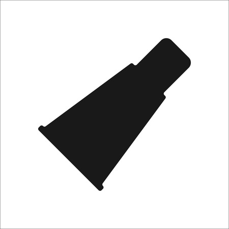 Cap pour narguilé simple signe icône sur fond Banque d'images - 59840566