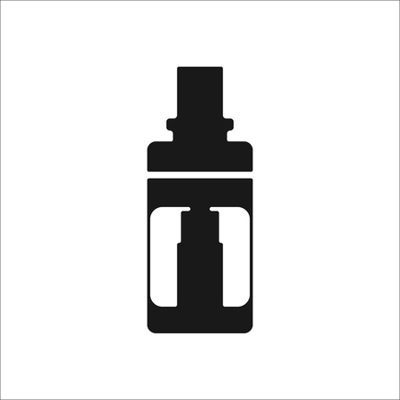 atomizer: Vaping atomizer sign simple icon on background