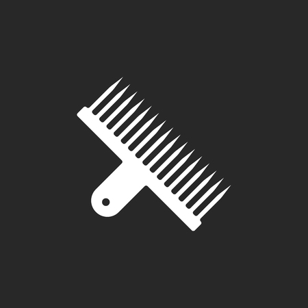 Narguilé feuille perforatrice simple signe icône sur fond Banque d'images - 59840790