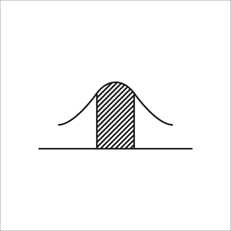 math icon: Math graphic symbol sign simple icon on background