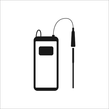 PH Meter,chemistry Equipment Symbol Sign Simple Icon On Background ...