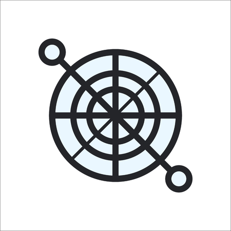 pedals: Bike bicycle Crank sprocket with pedals symbol sign flat icon on background