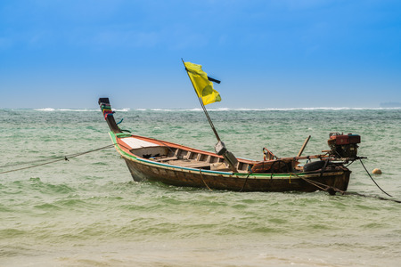 Fishing boat in Phuket, Thailand.