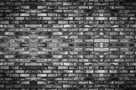 Brick wall with old texture pattern. Vintage style and grunge retro interior.