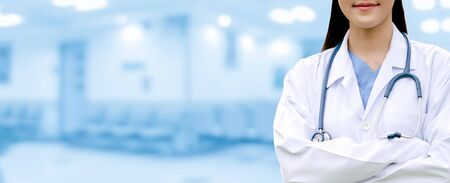 Professional doctor at the hospital. Medical healthcare business and doctor service. Stock fotó