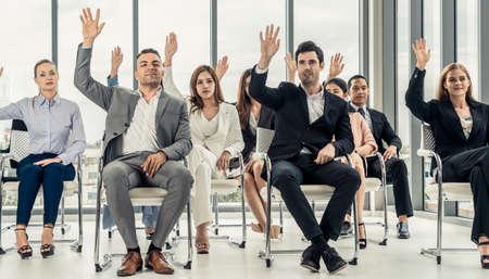 Corporate business team concept. Banco de Imagens