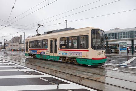 TOYAMA,JAPAN-APRIL 6,2015 : The 7000 Series