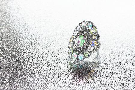 brilliancy: Digital art of jewelry Stock Photo