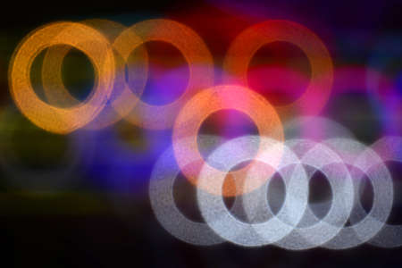 out of focus: Bokeh blur of light, out of focus colorful abstract for background. Stock Photo