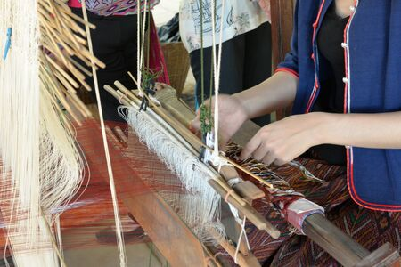 weaving: Local weaving of Thailand.