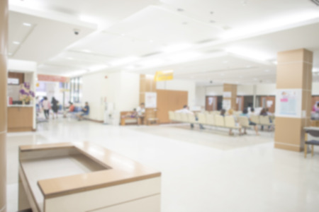 nurse station: Out of focus of the nurses station in a hospital for background use.