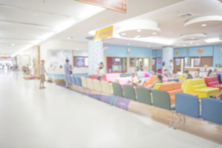 nurses station: Out of focus of the nurses station in a hospital for background use.