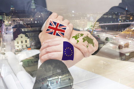 wold map: The United Kingdom out of membership from the European Union will be affected on the economy, society. All parties should work together to solve the crisis.