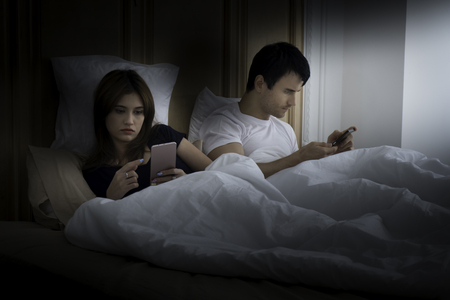 Everyday life of the couple has a happy moment. And troubled