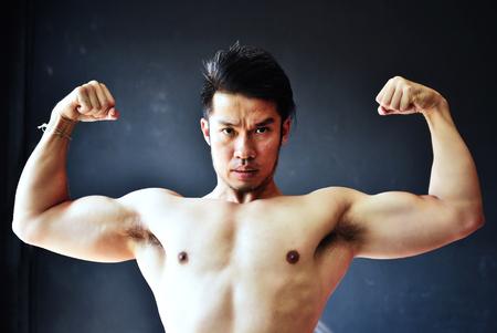 Man showing his body Stock fotó