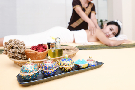 Spa and massage : Thai massage and spa for healing and relaxation Stock fotó