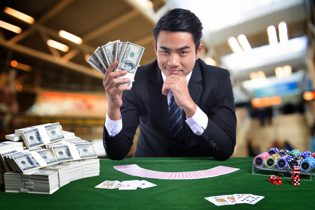 Gambling business It has enormous market value. Stock Photo