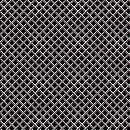 Metal Grill Seamless Pattern Texture for Background Design.  Illusztráció