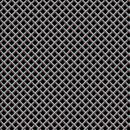 Metal Grill Seamless Pattern Texture for Background Design.  Vettoriali
