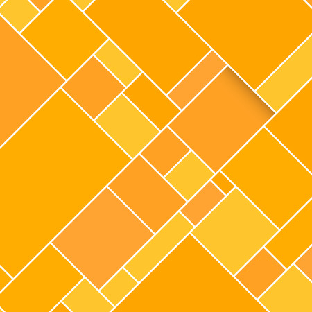 structured: Vector Orange Rectangular Structured Background Illustration with Shadow
