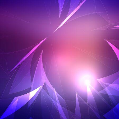light wave: Astratto Light Wave con sfondo sfocato. Vector Illustration Vettoriali