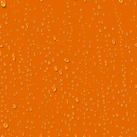 Water transparante druppels naadloos patroon. Regendruppels. Condenswater achtergrond. Waterdruppels verspreid over het oppervlak. Water druppels naadloze achtergrond. vector illustratie Stock Illustratie