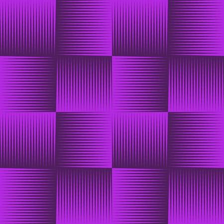 comix: Purple line shaded geometric seamless pattern. Endless texture. Vector illustration