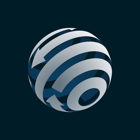 Globe icon Element symbol of Globalization. . Zdjęcie Seryjne