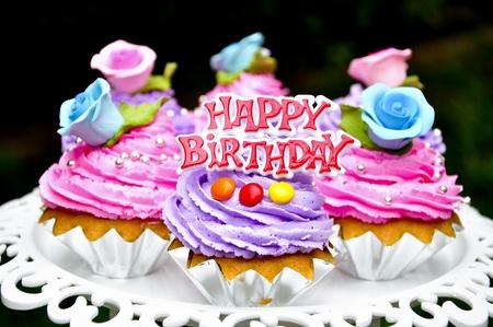 decoracion de pasteles: cookie de feliz cumplea�os con adornado