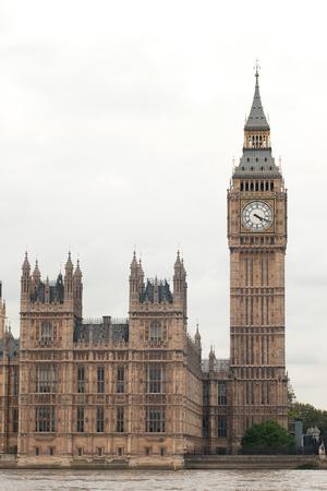 bigben: London Big Ben Isolated Stock Photo