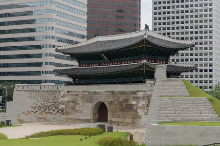 during the day: Photo of Namdaemun Gate in Seoul, Korea during day