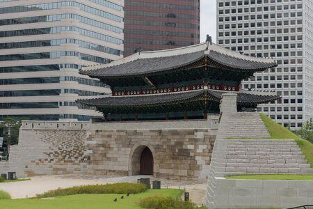 Photo of Namdaemun Gate in Seoul, Korea during day