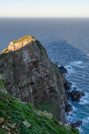 Cape Point, Cape Town, South Africa during the Sunset Stock Photo