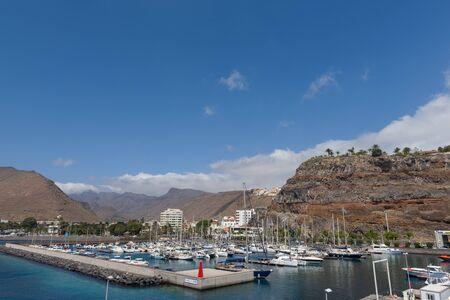 View of port in San Sebastian De La Gomera, Canary Islands, Spain