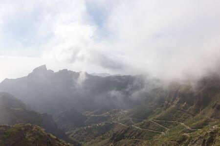 Scenery on a way towards Masca village in Tenerife
