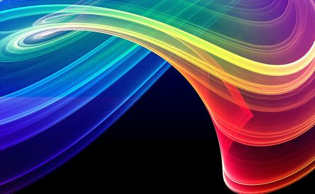 Colorful 3D rendered fractal design (abstract background) Stock Photo - 1944457