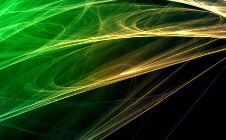 Green 3D rendered fractal (fantasy,abstract background) Stock Photo - 1979123