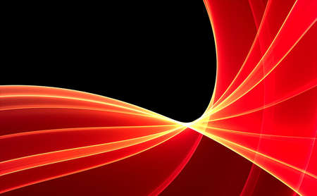 Red 3D rendered fractal (fantasy,abstract background) Stock Photo - 1979103