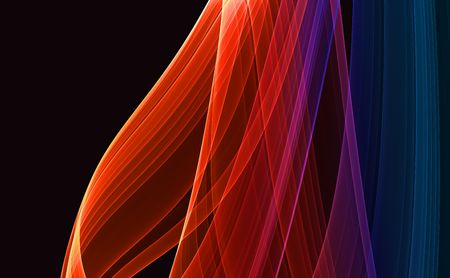 Colorful 3D rendered fractal (fantasy,abstract background) Stock Photo - 1979107