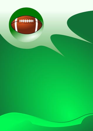 Abstract sport background ( American Football Vector ) Vector