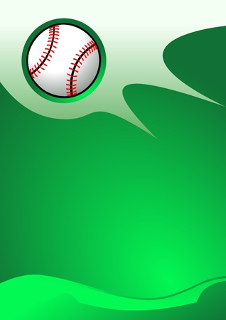 agile: Abstract sport background (Baseball Vector) Illustration