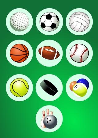 Design Elements (Sport Balls Icon Set)