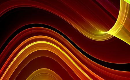 Colorful 3D Rendered Fractal - Abstract Background photo